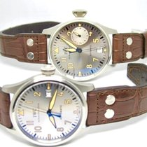 IWC Big Pilots Father And Son  Platinum-1 set 2 watches