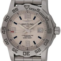 Breitling : Colt 44 Quartz :  A7438710/G743 :  Stainless Steel