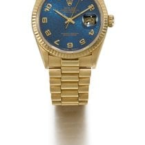 勞力士 (Rolex) | A Yellow Gold Automatic Centre Seconds Wristwatc...