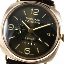 Panerai RADIOMIR PAM395 8 DAYS GMT rose gold – PAM00395 –...