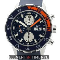 IWC Aquatimer Collection Aquatimer Chronograph Blue Dial 2012