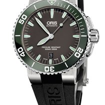 Oris Aquis Date, Ceramic Top Ring, Rubber Bracelet