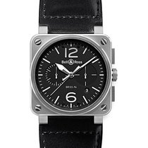 Bell & Ross BR 01-94 Chronographe Steel BR0394-BL-SI/SCA