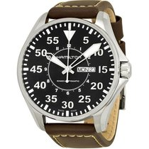 Hamilton Men's H64715535 Khaki Aviation Pilot Auto Watch