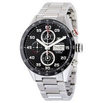 TAG Heuer Carrera Calibre 16 Day Date Stahl Automatik Chronograph