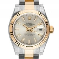 Rolex Datejust Lady Stahl Gelbgold Automatik Armband Oyster...