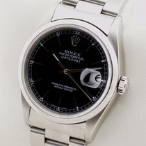 Rolex OYSTER PERPETUAL DATEJUST EDELSTAHL AUTOMATIC HERRENUHR