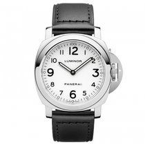 Panerai Luminor Base Acciaio  Mens Watch PAM00114