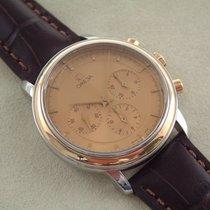 Omega De Ville Stahl Gold Herrenuhr Chronograph 36 mm TOP Cal 861