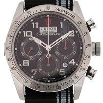 Tudor Fastrider Black Shield 42 Chronograph Black Strap