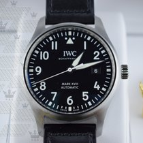 IWC IW327001  Pilot's Mark XVIII Automatic Black Dial
