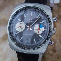 Tissot Navigator Rare Mens Stainless Steel 1970s Chronograph...