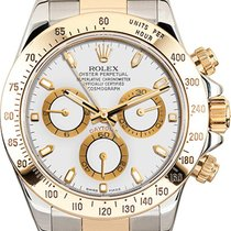 Rolex Pre-Owned Yellow Gold Daytona 116523 White