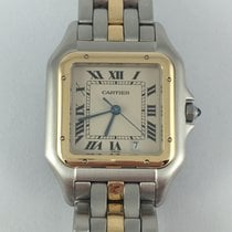 Cartier Panthère steel/gold medium model