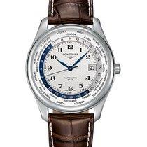 Longines Men's L28024703 Master Automatic GMT Watch