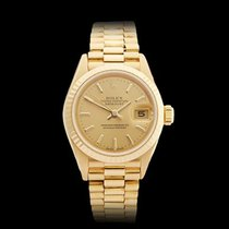 Rolex Datejust 18k Yellow Gold Ladies 69178