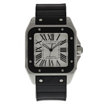 Cartier Santos 100 Stainless Steel 2658