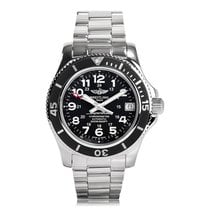 Breitling Superocean Automatic Stainless Steel Black Dial...