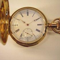 T. Varrailhon Viertelrepetition Savonnette Taschenuhr 18k Gold