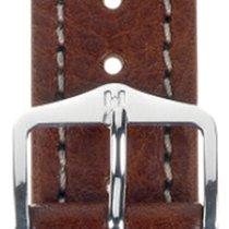 Hirsch Uhrenarmband Leder Buffalo braun L 11320215-2-20 20mm