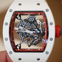 Richard Mille RM 055 Bubba Watson White Asia Edition