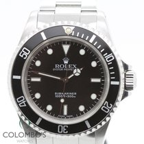 Rolex Submariner No date 14060M Fat Four  Two Liner