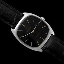 Omega 1979 De Ville Vintage Mens Handwound Ultra Thin Dress Watch