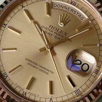 Rolex DAYDATE GELBGOLD REF 18238+WIE NEU++LC100++Box &...