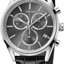ck Calvin Klein City Chrono K4M271C3 Herrenchronograph Swiss Made