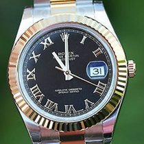 Rolex Mens 2tone Datejust 41mm Latest Model 116333 Raised 18k...