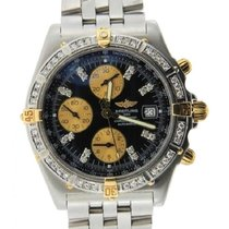 Breitling Crosswind Men's 42mm Black Dial Stainless Steel...