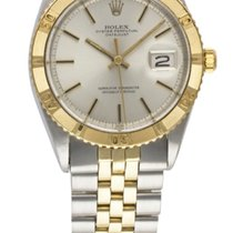 Rolex STEEL & GOLD OYSTER PERPETUAL DATEJUST TURNOGRAPH