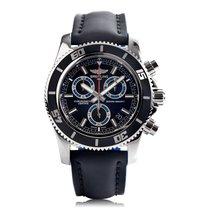 Breitling Superocean Chronograph M2000 Black & Blue Mens...