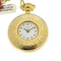 Tavernier orologio tasca placcato oro giallo cesellato/ pocket...