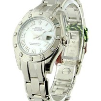 Rolex Unworn 80319 Ladys White Gold Masterpiece with 12...