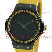 "Hublot Big Bang 38mm Tutti Frutti ""Lemon"", Black Dial,..."