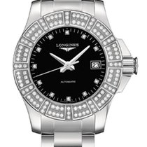Longines Conquest Automatic Ladies Watch Diamonds