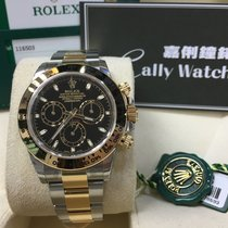 Rolex Cally - NEW DAYTONA 116503 black Stick 全新金鋼黑地通