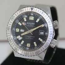 Sicura by Breitling Vintage 41 mm Divers Watch