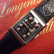 Longines diamond dial watch from the late forties - cal. 9L