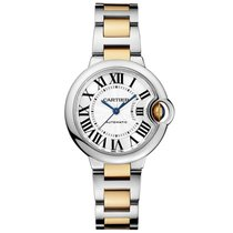 Cartier Ballon Bleu Quartz Ladies Watch Ref W2BB0002