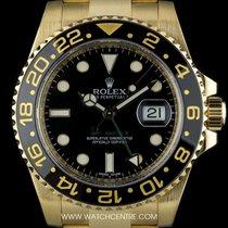 Rolex 18k Y/G O/P Black Dial Ceramic Bezel GMT-Master II 116718LN