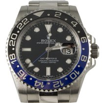 Rolex GMT II Batman 116710BLNR  Steel 2015 Black Dial 40mm