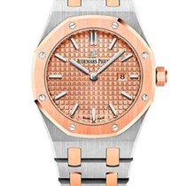 Audemars Piguet Royal Oak Quartz 18K Pink Gold & Stainless...