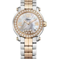 Chopard 278488-6001 Happy Sport 2 ladies 2-Tone - Rose Gold...