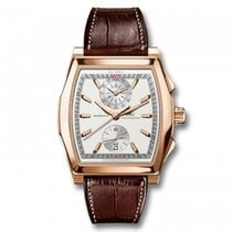 IWC Da Vinci Fly Back Chronograph 18k Rose Gold