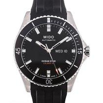 Mido Ocean Star Captain 43 Day Date Rubber Strap