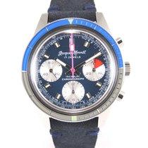 Jacques Monnat Chronographe Diver 314 13 blue dial New old stock