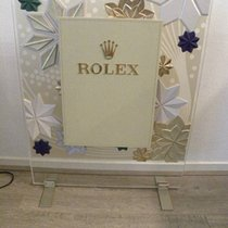 Rolex jewelers  dealer Display decoration window watch leather...