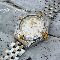 Breitling Wings Lady - B67350 - (Stahl / Gold) mit Pilotband